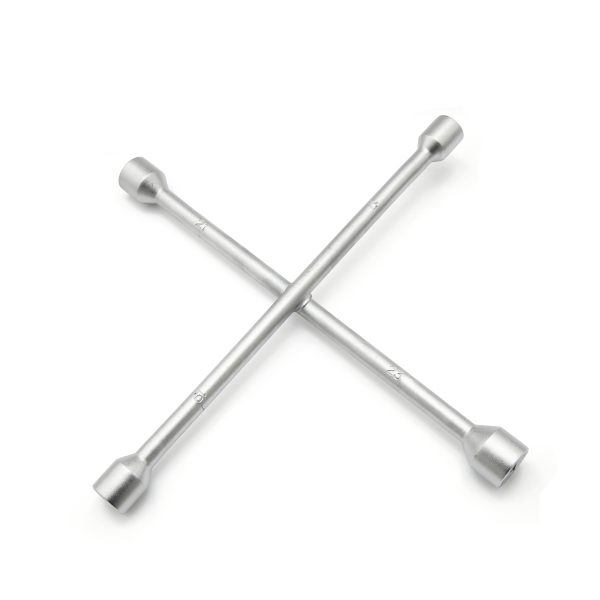 JF 201  - Cross Wheel Spanner Chrome Plated
