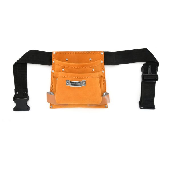 JF 903 - 5 Pockets Split Leather Carpenter Apron